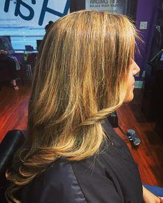 Golden blonde locks  Hairbyzaklina.com