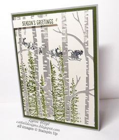 Cattail Designs: Stampin Up, Playing with Christmas goodies