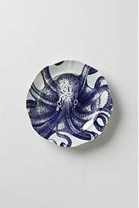 From The Deep Salad Plate, Octopus