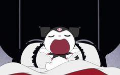 What time is it? Cartoon Gifs, Cartoon Icons, Cute Cartoon, Hello Kitty My Melody, Emo Love, Pochacco, Cute Memes, Sanrio Characters, Cute Icons
