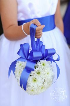 flower girl bouquet pomander