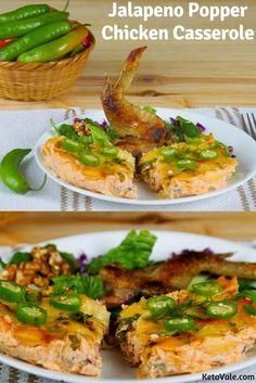 Jalapeno Chicken Casserole