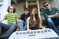 Janna Pelle and the Half-Steps (photographed by Aundre Larrow) featured in our November 2010 Local Band Profile. #INsite #gainesville #florida #magazine #jannapelle #band #music