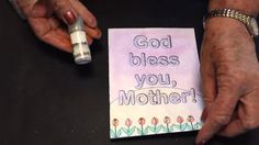 EzyShaid Colour's Mother's day Card....God bless Mother