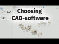 Best FREE CAD Programs for 3D Printing - 2015 - YouTube
