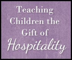 In the fourth day of a series focusing on teaching home ec skills to children, I will share ideas for activities to teach children about hospitality. Home Economics, Home Schooling, Religious Education, Lessons For Kids, Preschool Activities, Preschool Learning, Etiquette, Life Skills, Teaching Kids