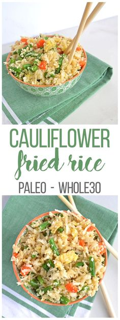 Cauliflower Fried Rice (Whole30)