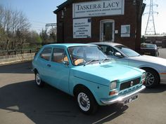 1974 Fiat 127 903cc Light Blue Time Warp Condtion Just 1710 Miles | eBay