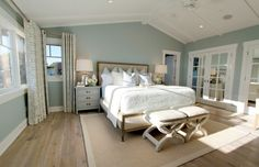 Looking for the perfect bedroom paint color? Check out these trends in bedroom paint colors that manufacturers predict will be the most popular shades in 2017.