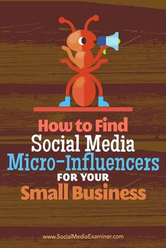 Want to promote your small business on a budget?  Highly targeted micro-influencers can help your small business gain visibility, engage an audience, and promote your products. Via @smexaminer.