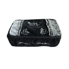 Genuine Disney Mickey plush black and white box cover with a paper towel tray 2 car auto accessories
