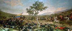 Batalla de Carabobo (1888), óleo de Martin Tovar y Tovar