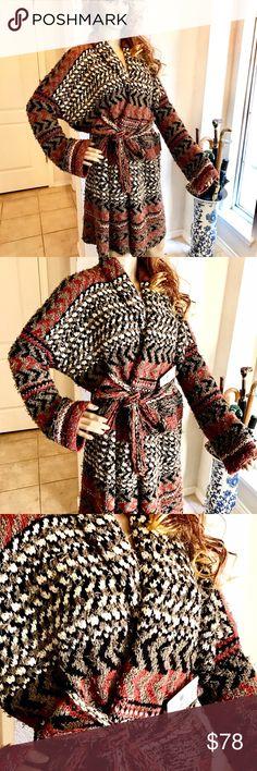 Spotted while shopping on Poshmark: NWT ✨Free People✨ Long Wrap Boho Sweater! #poshmark #fashion #shopping #style #Free People #Sweaters
