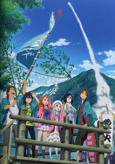 AnoHana (あの日見た花の名前を僕達はまだ知らない) #anime