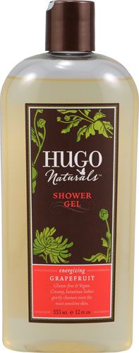 Hugo Naturals Shower Gel Energizing Grapefruit