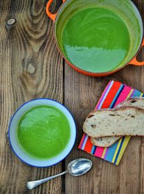5 Minute Green Soup