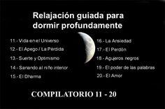 RELAJACIÓN PARA DORMIR PROFUNDAMENTE - COMPILATORIO II (11-20)