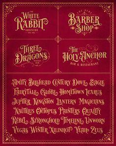 Royal Signage Font + Vector Ornaments – Tobias Saul