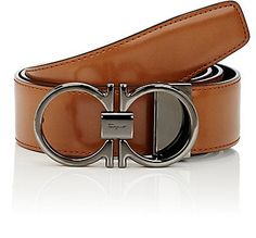 We Adore: The Reversible Leather Belt from Salvatore Ferragamo at Barneys New York