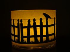 halloween candle lanterns | Halloween lantern, mystical enchantments, halloween candle, crows ...