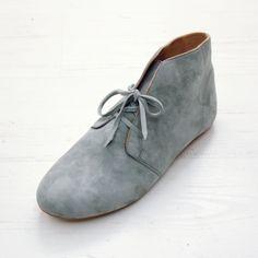 Grey suede nomad bootie {sneak peek} // suede booties // leather booties