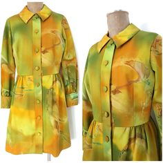 Vintage 60s Tori Richard Dress Size Medium Hawaiian Honolulu MOD Sheath Retro  #ToriRichard #Sheath #Festive