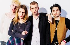 "Canal Electro Rock News: Wolf Alice disponibiliza para streaming remix para música ""Don't Delete the Kisses"""