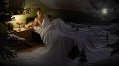 """O fotografo alemãoErik Johansson, dedica sua vida em tempo integral para realizar um trabalho incrível nas fotos que produz. """"Eu não capturo momentos, eu capturo ideias. Para mim a fotografia é apenas uma maneira de coletar material para realizar as idéias na minha mente.""""– Diz o fotógrafo que mistura realidade e sonhos. Gostou? Quer mais?"""