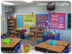 You've got to look at this classroom, when thinking about how you want to set up your classroom!