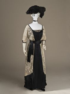 Callot Soeurs   c. 1910 (the link has views of side, back and close up of fringe)