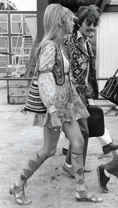 70er Ans Hippie Costume Manu pour femme nouveau-femmes Carnaval verkleidun