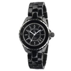 K010G Black Ceramic & Glass Cercle Watch