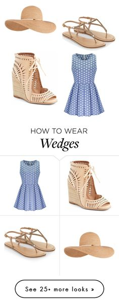 """Untitled #38"" by x-ghova on Polyvore featuring Eugenia Kim, Jeffrey Campbell and Accessorize"