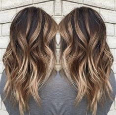 Using Keune color, Redken toner and Brazilian Bond Builder to preserve the integrity of the hair during the lightening process, along with Unite styling products, Malone create this brunette look for summer, that could just as well work for the seasons ahead. #haircolor