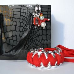 Natale con mylovelycreation Orecchini e bracciale mylovelycreation@libero.it