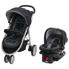 """Graco Aire3 Click Connect Travel System Stroller - Gotham - Graco - Babies """"R"""" Us"""