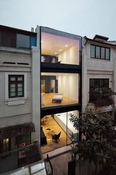 Split House in Shanghai.