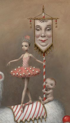 Mark Ryden x American Ballet Theatre - Whipped Cream ABT's Whipped Cream  (I would love to see artwork produced for posters for a wonderful nutcracker ballet noel gift)
