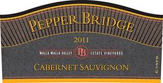 2011 Pepper Bridge Estate Walla Walla Valley Cabernet Sauvignon 1.5 L >>> Be sure to check out this awesome product.