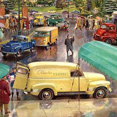 Detail Of Chevrolet Trucks Advance-Design Popularity - www.MadMenArt.com…