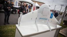 Google's Project Wing Delivery Drone Prototype