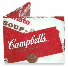 Andy Warhol hubiese pagado su sopa con esta cartera.