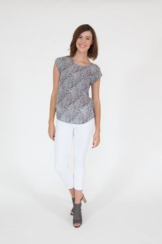 Joie Rancher B Smokey Crystal Blouse | Blouses | June Ruby