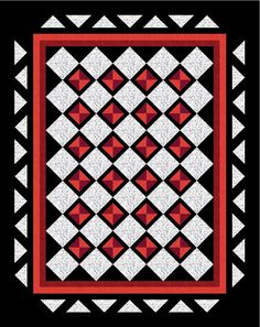 Queen Anne's Lace Quilt Pattern - Throw, Twin, Full / Queen