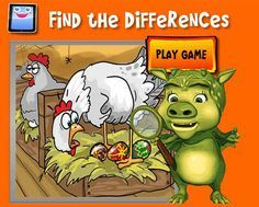 #WeekendForKids..Fancy Chicken Eggs..Find the difference..http://ow.ly/ziMPo