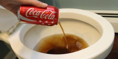 How To Clean Your Toilet With Coca-Cola   Life Cheating