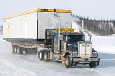 ice truckers | Scene from Ice Road Truckers picture - Ice Road Truckers picture #31 ...