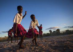 Ovambo Girls Dancing, Ongula, Namibia | Flickr - Photo Sharing!