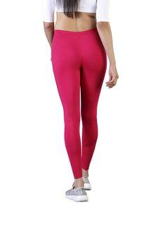 Full length pink legging for women amazon