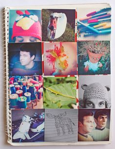 punk projects: Instagram Notebook DIY